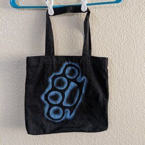 Hot Topic Brass knuckles tote bag